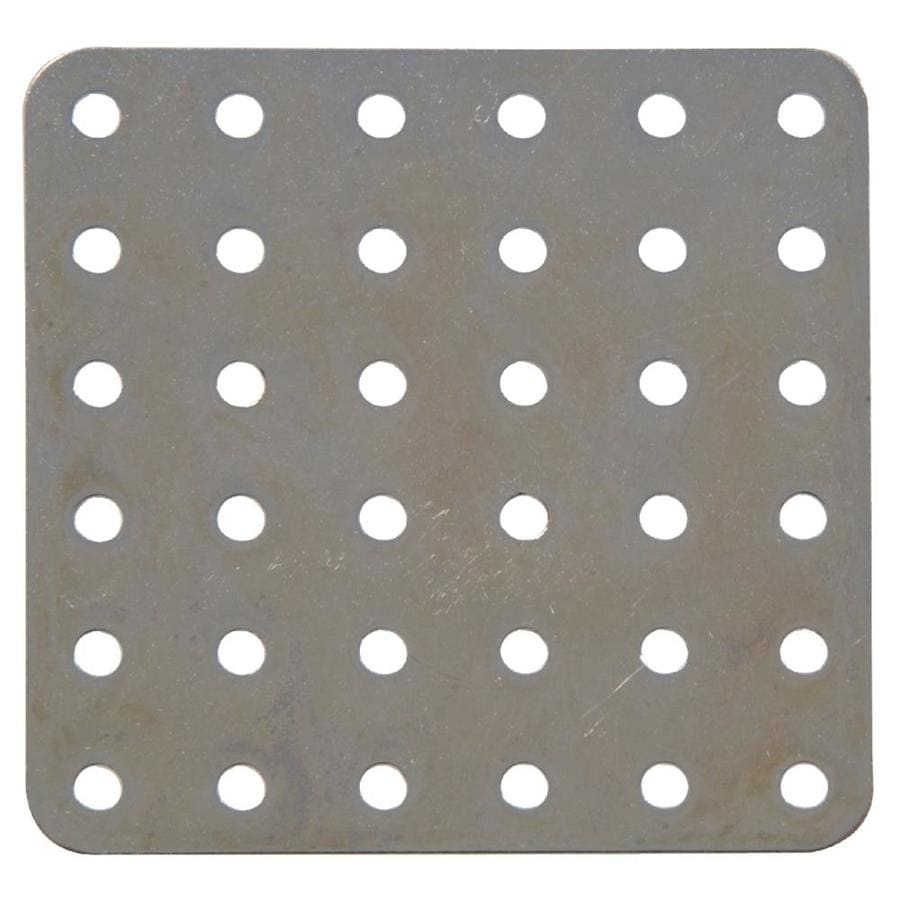 Hillman 3-in x 1/4-in Metal Slotted Square Plate