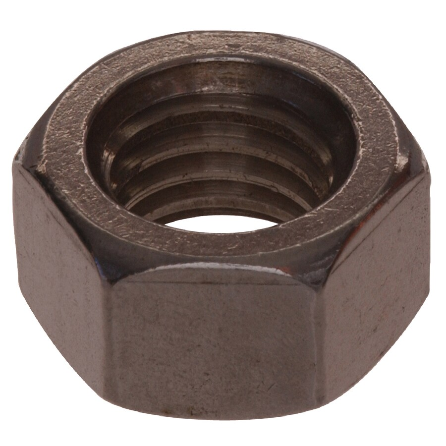 Hillman 50-Count 1/2-in Stainless Steel Standard (SAE) Hex Nuts