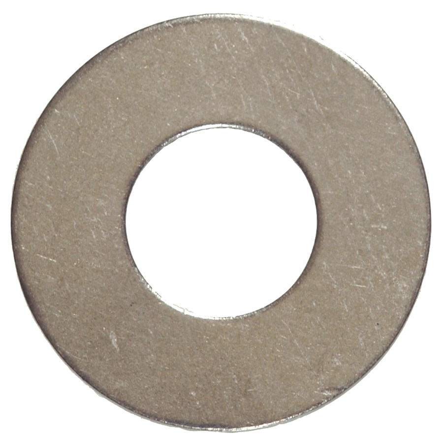 Hillman 10-Count 1-1/8-in Stainless Steel Standard (SAE) Flat Washers