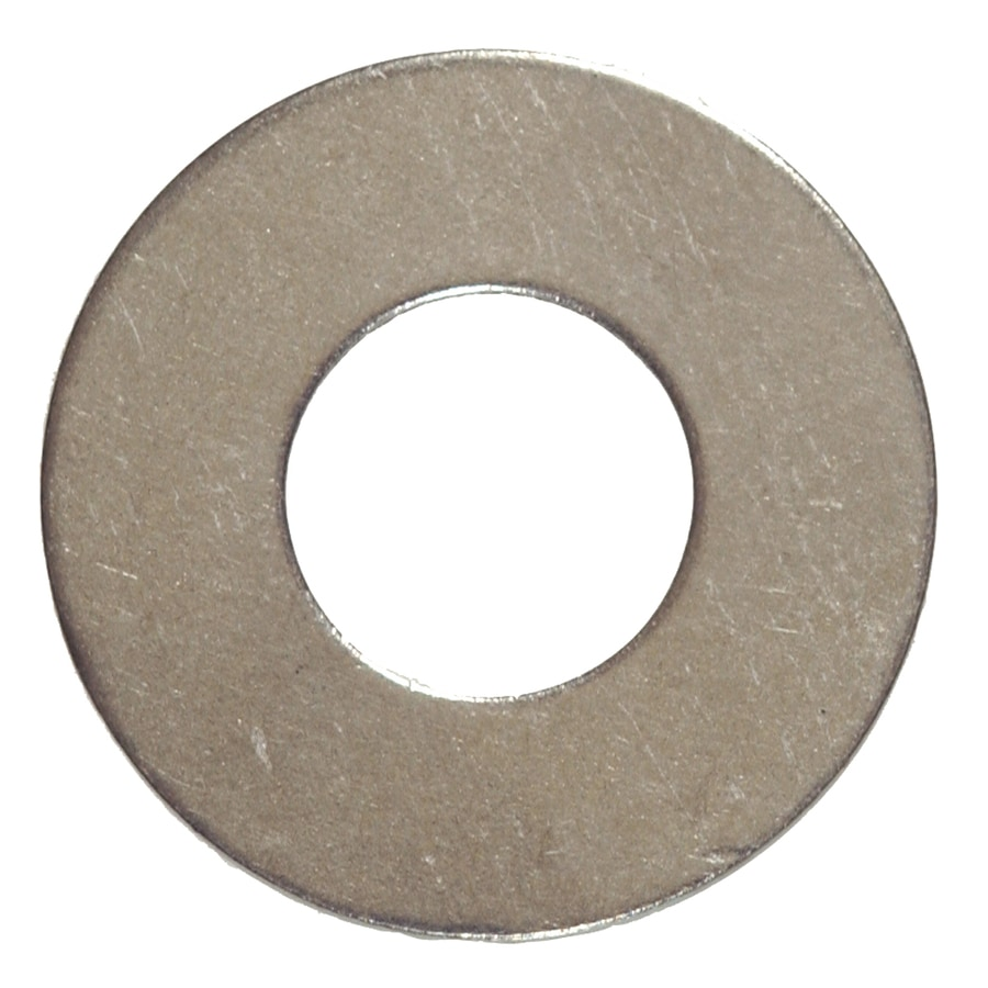 Hillman 100-Count 1/8-in Stainless Steel Standard (SAE) Flat Washers