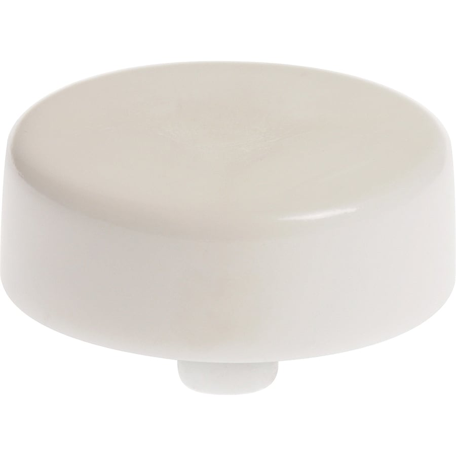 Hillman White Snap-in Toilet Seat Bumpers