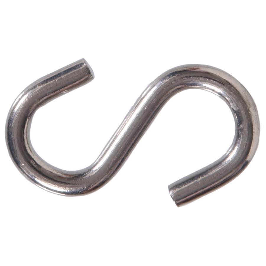 Hillman 2-Pack Stainless Steel S Hooks