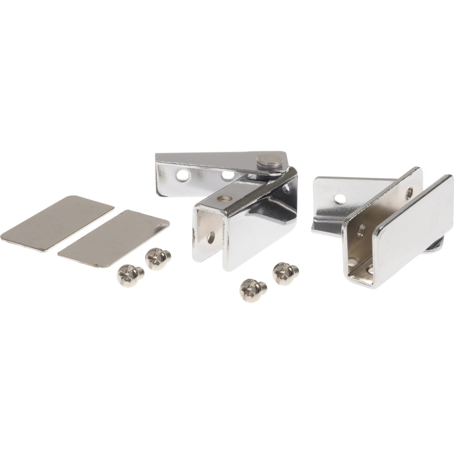 Hillman 2-Pack 1/2-in x 1-1/2-in Chrome Cabinet Hinges