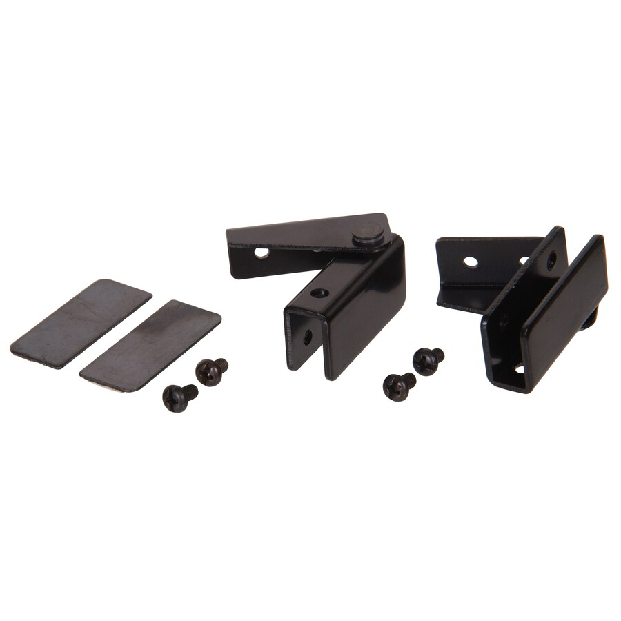 Hillman 2-Pack 1/2-in x 1-1/2-in Black Cabinet Hinges
