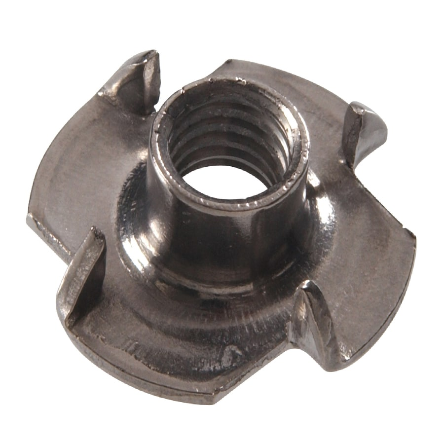 Hillman 12-Count #10 Stainless Steel Standard (SAE) 4-Prong Tee Nuts