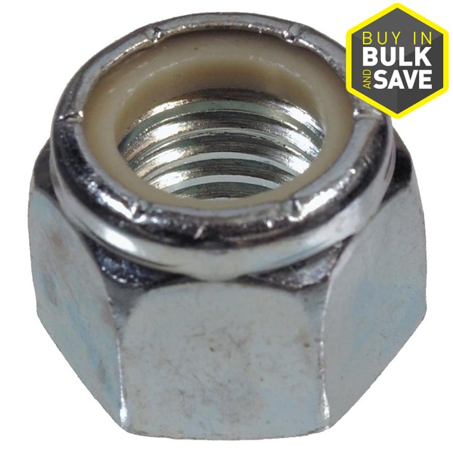 Hillman 3/8-in Zinc-Plated Standard (SAE) Nylon Insert Lock Nut