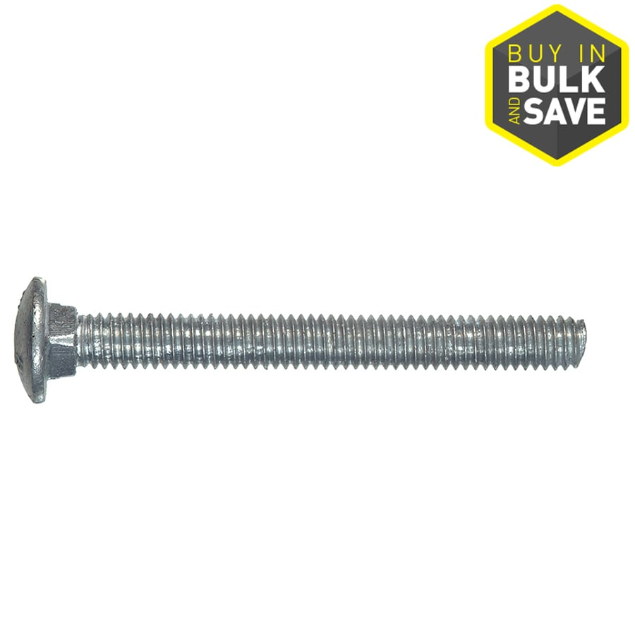 Hillman 6-in Hot-Dipped Galvanized Carriage Bolt