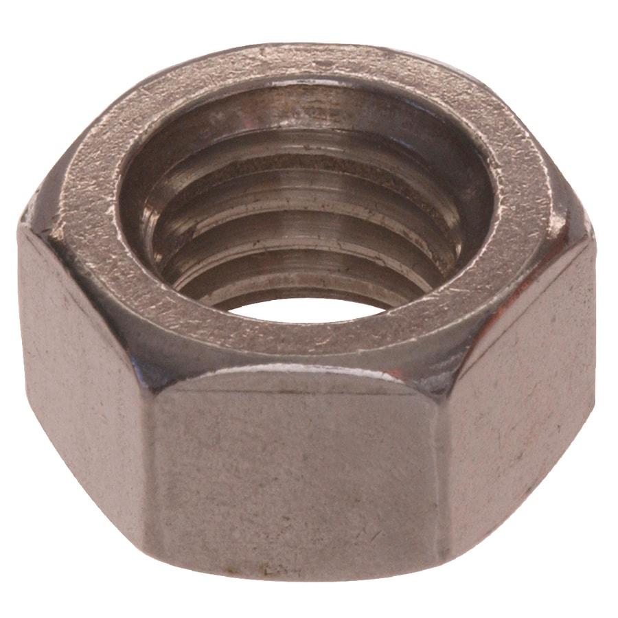 Hillman 1/4-in Stainless Steel Standard (SAE) Hex Nut
