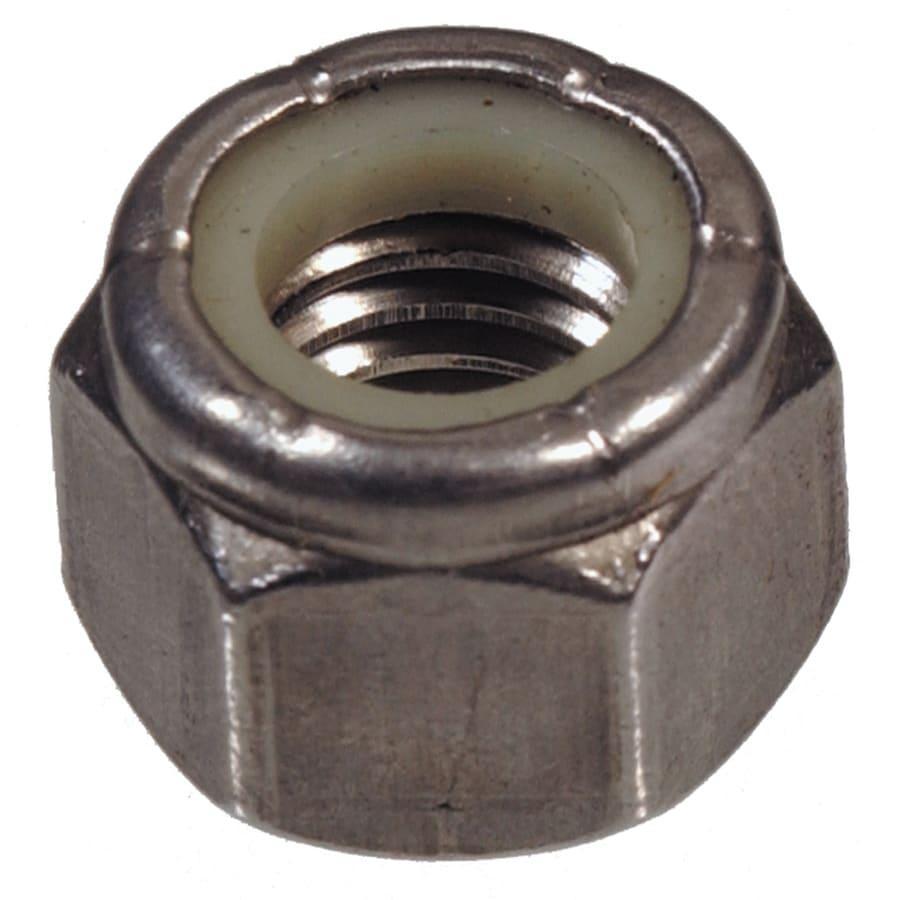 Hillman 3/8-in Stainless Steel Standard (Sae) Nylon Insert Lock Nut
