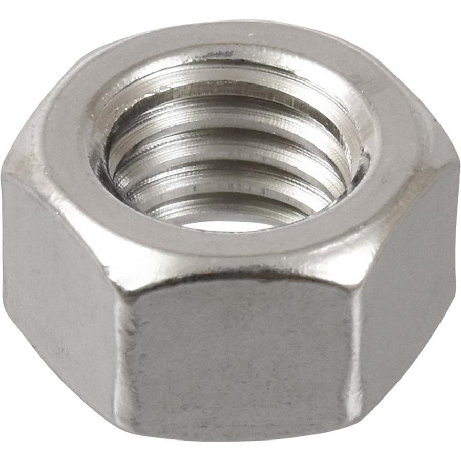Hillman 25-Count 7/16-in Stainless Steel Standard (SAE) Hex Nuts