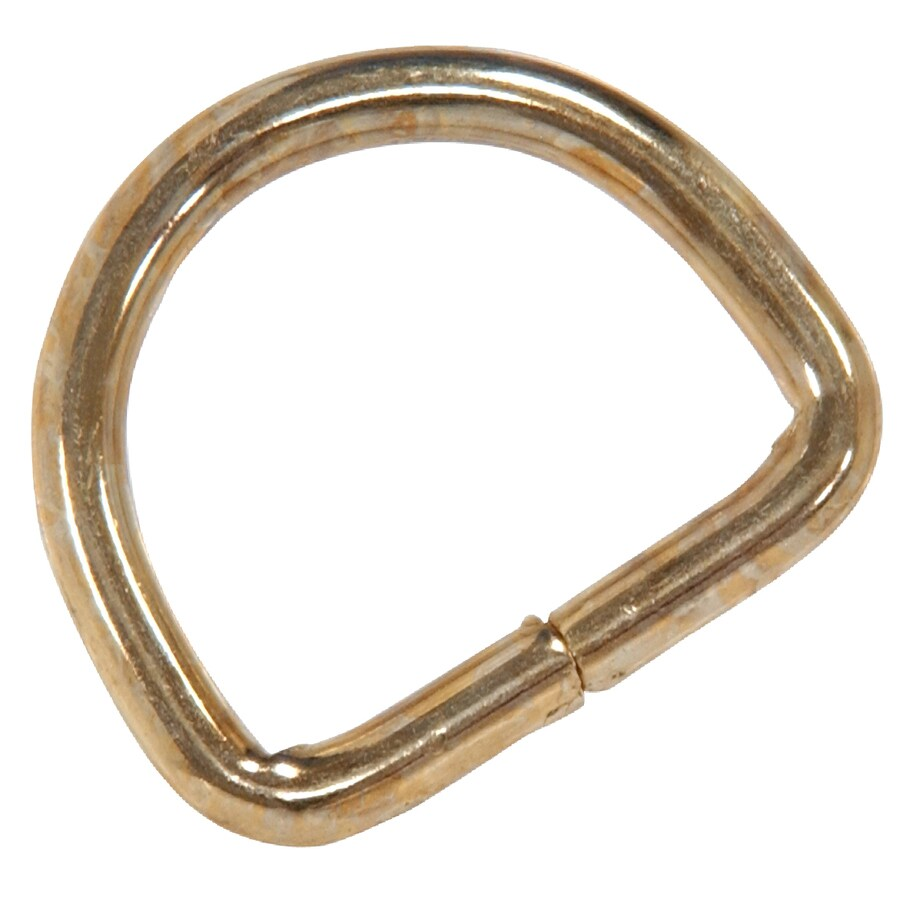 Hillman 12-Pack 7/8-in Steel D-Rings