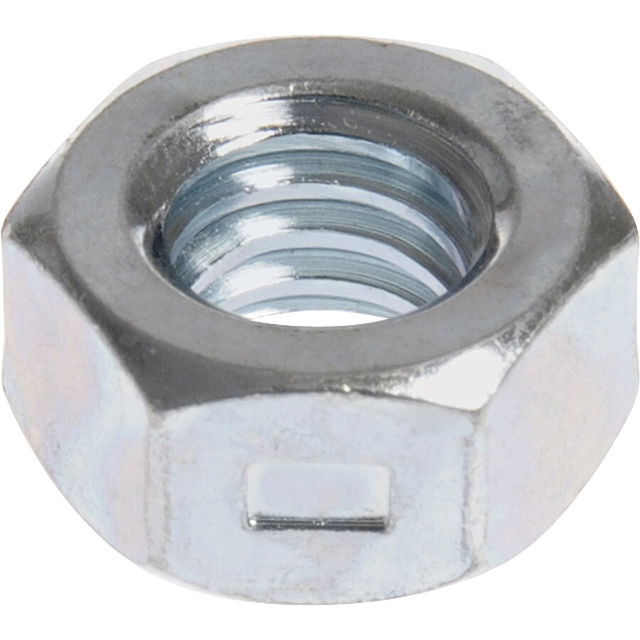 Hillman 25-Count 1/4-in Zinc-Plated Standard (SAE) All Metal Lock Nuts