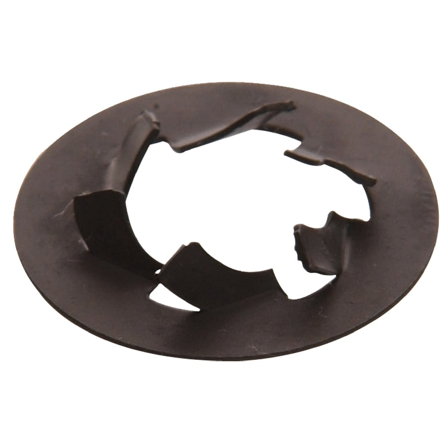 Hillman 100-Count #8 Black Steel Round Spring Nuts