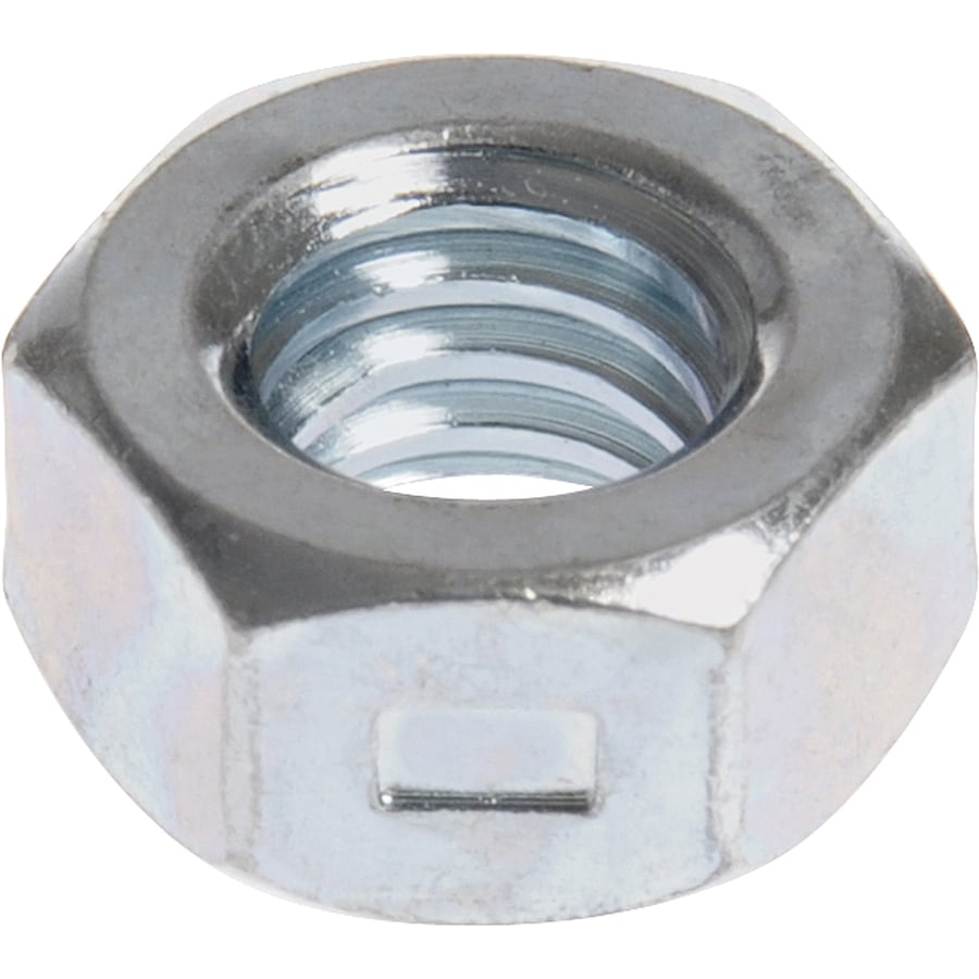 Hillman 30-Count 1/4-in Zinc-Plated Standard (SAE) All Metal Lock Nuts