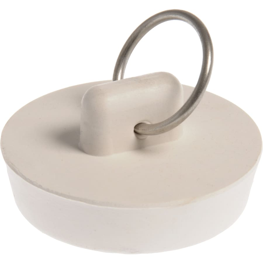 Hillman White Pop-Up Drain Stopper