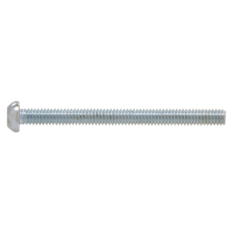 The Hillman Group 25-Count #10-24 x 1-in Round-Head Zinc-Plated Square-Drive Standard (SAE) Machine Screws