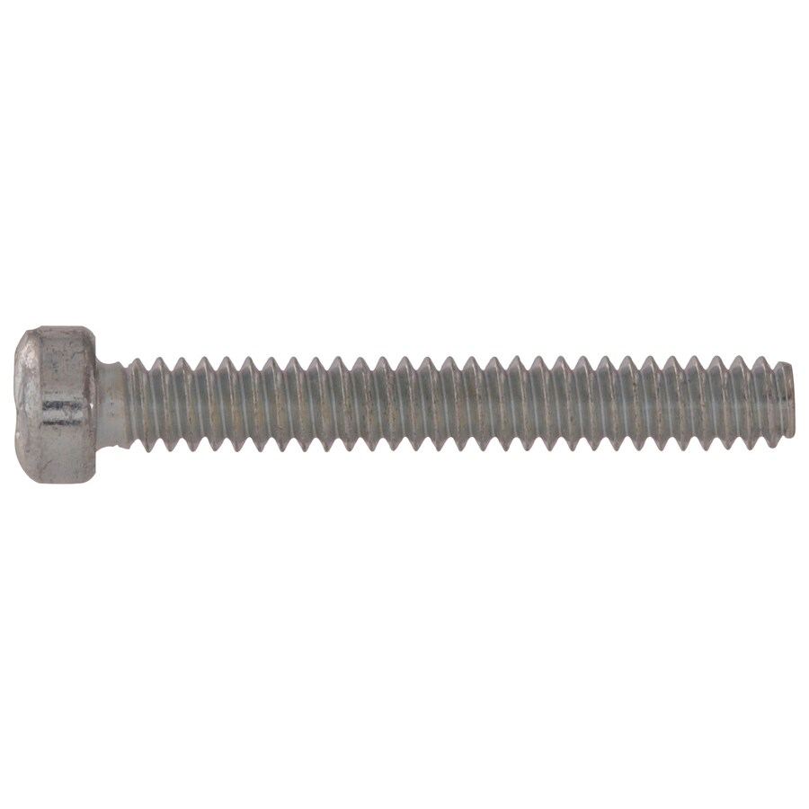 Hillman 25-Count #14 to 20 x 0.5-in Fillister-Head Zinc-Plated Standard (SAE) Machine Screws