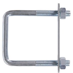 U-BOLT FOR 6 Inch SQUARE POLE