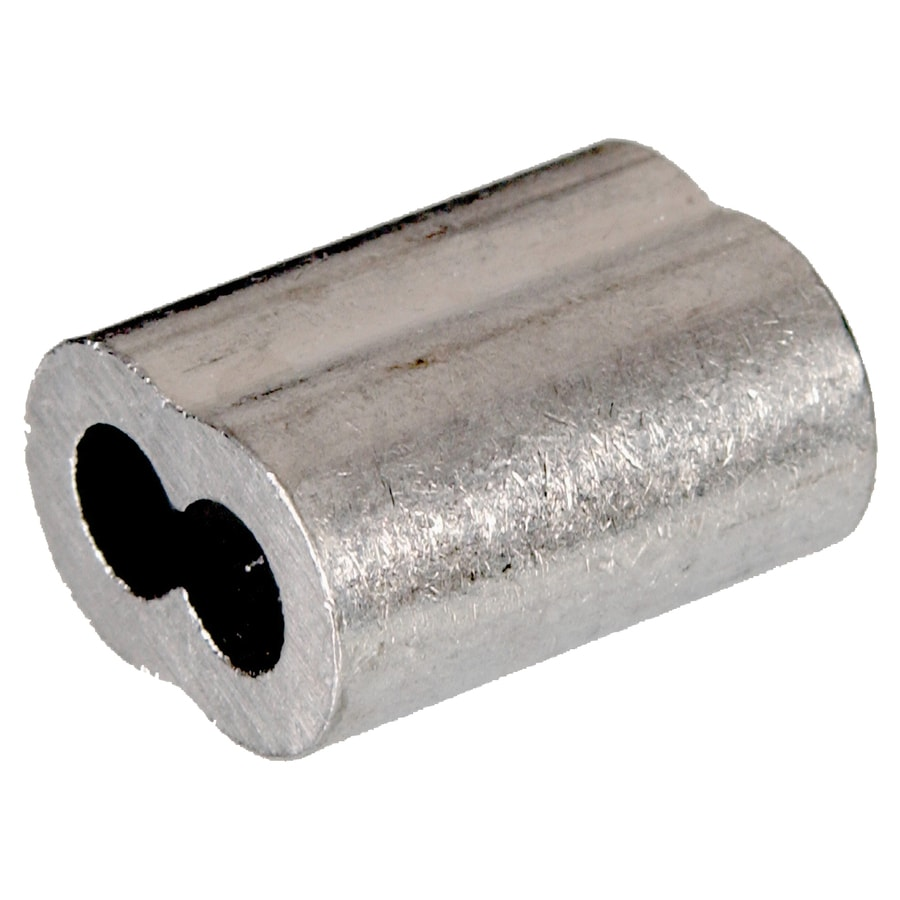 Hillman 1 16 In Aluminum Cable Ferrule In The Chain Accessories Department At Lowes Com