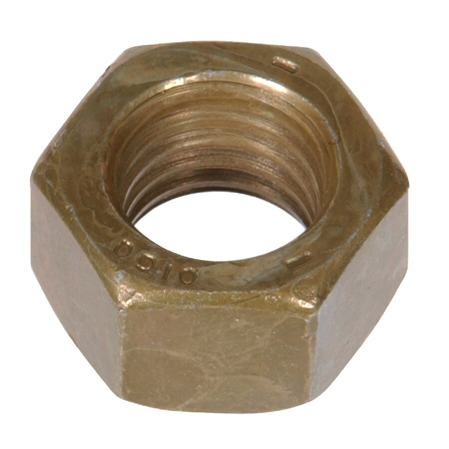 The Hillman Group 10-lb 1/4-in Zinc-Plated Standard (SAE) Hex Nuts