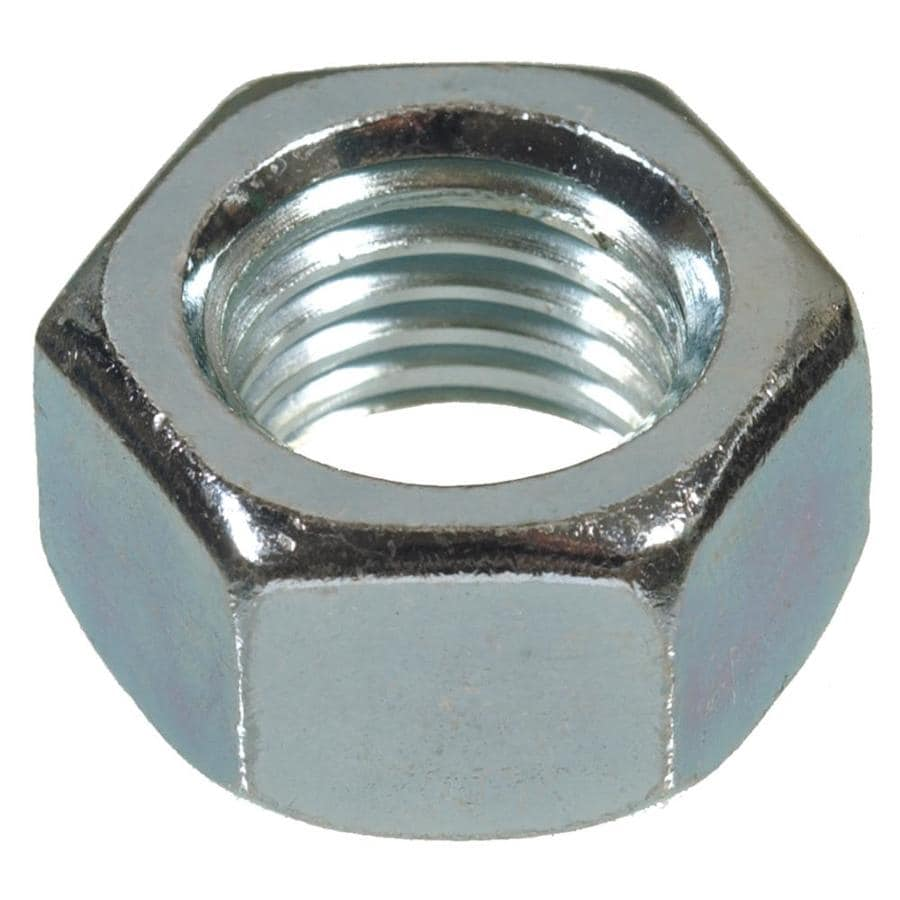 Hillman 20-Count #10 Zinc-Plated Standard (SAE) Hex Nuts