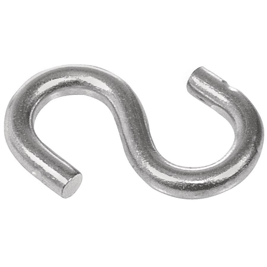 The Hillman Group 4-Pack Steel S Hooks