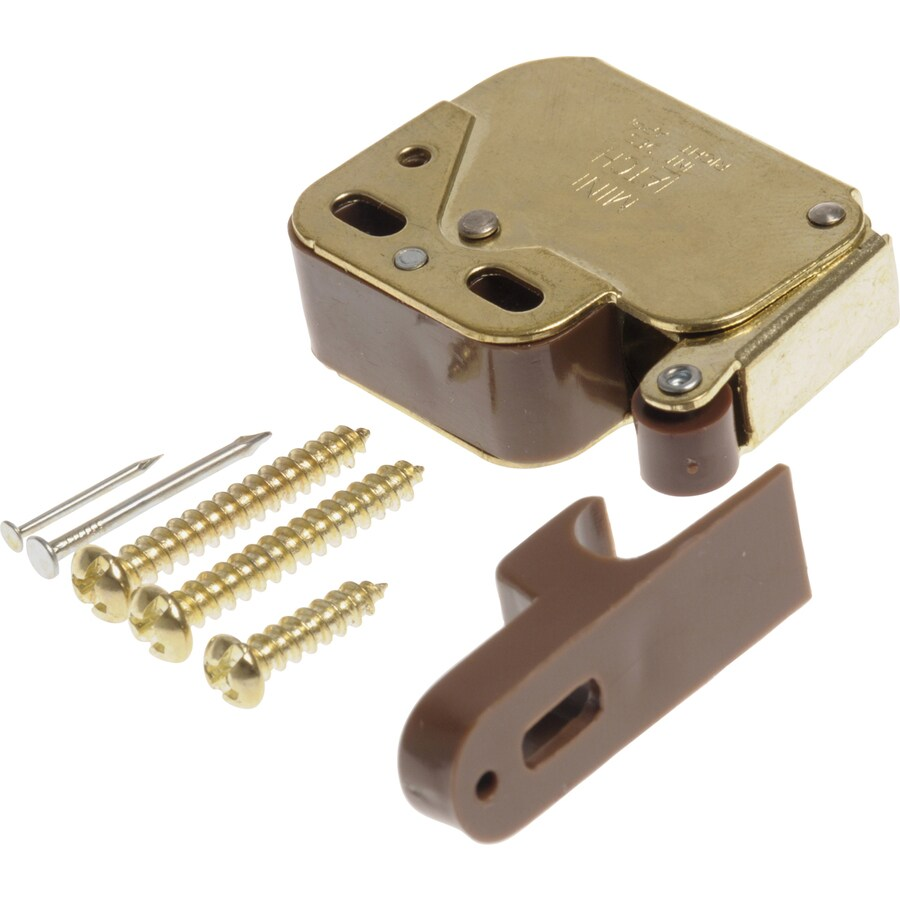 The Hillman Group 2-Pack Gold Cabinet Latches