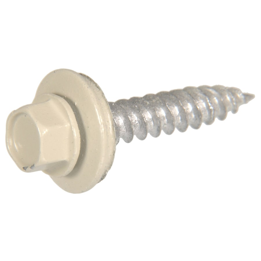 The Hillman Group 86-Count #10 x 2-in Coated Socket Hex-Drive Interior/Exterior Standard (SAE) Sheet Metal Screws