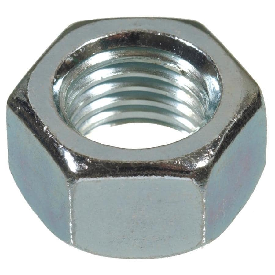 Project Pak 25-Count 1/4-in Zinc-Plated Standard (SAE) Hex Nuts