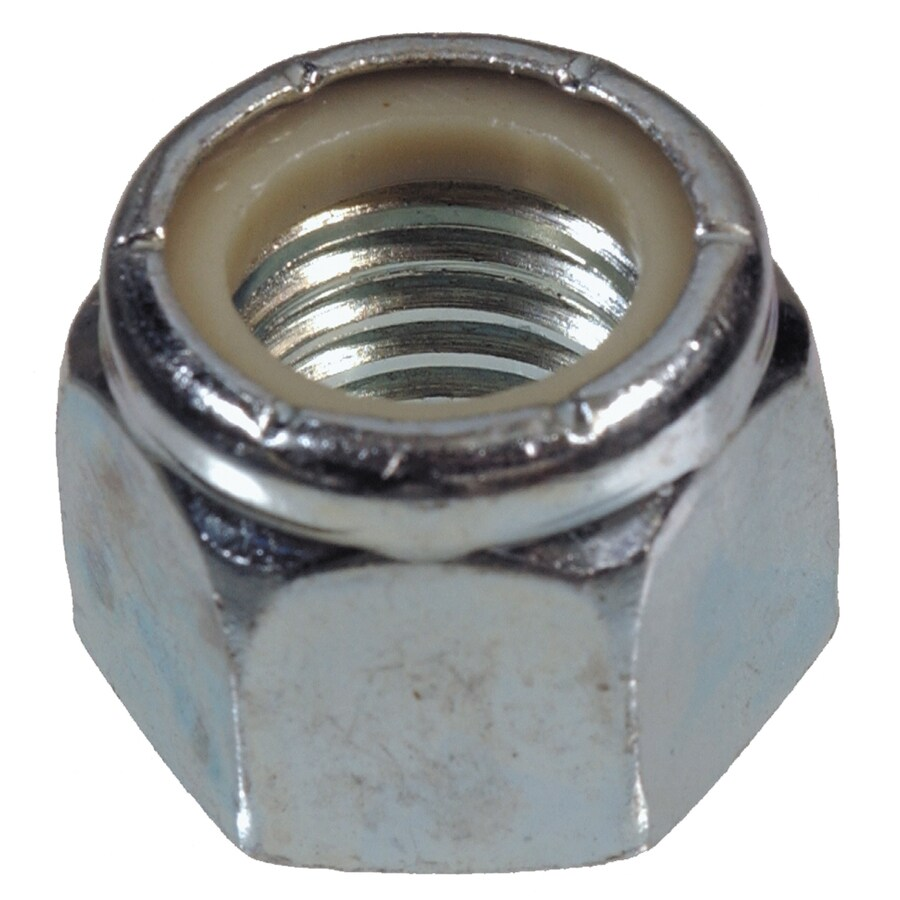 Project Pak 25-Count 3/8-in Zinc-Plated Standard (SAE) Nylon Insert Lock Nuts