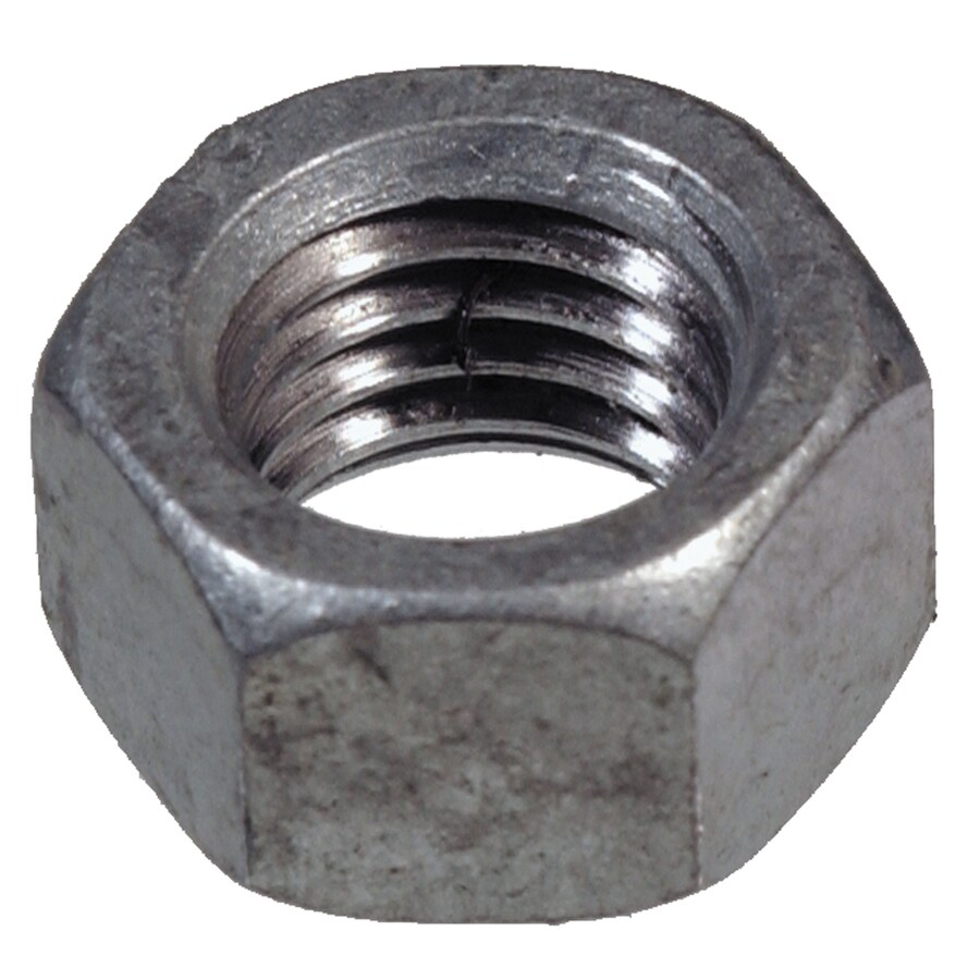 Project Pak 25-Count 1/2-in Hot-Dipped Galvanized Standard (SAE) Hex Nuts