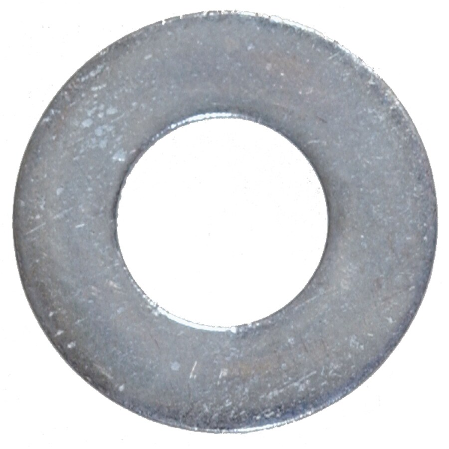 Project Pak 25 Count 0.250-in x 3/4-in Galvanized/Uncoated Standard (SAE) Flat Washer