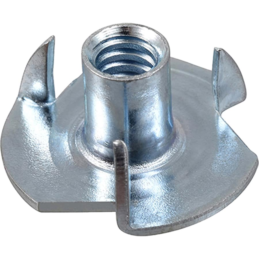 Hillman 25-Count 5/16-in Zinc-Plated Standard (SAE) 3-Prong Tee Nut