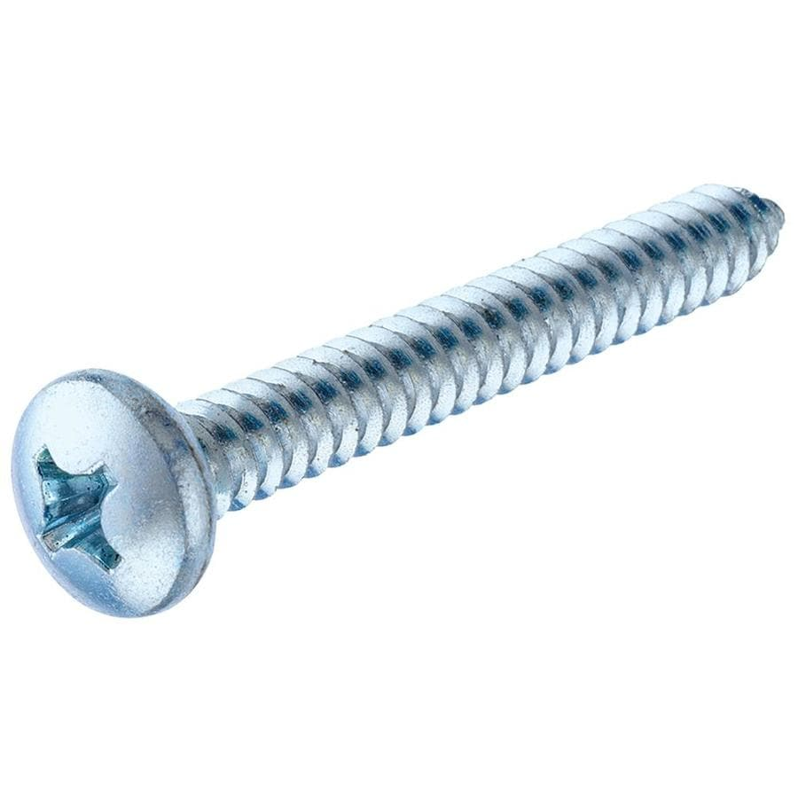 The Hillman Group 100-Count #5 x 0.5-in Zinc-Plated Interior/Exterior Sheet Metal Screws