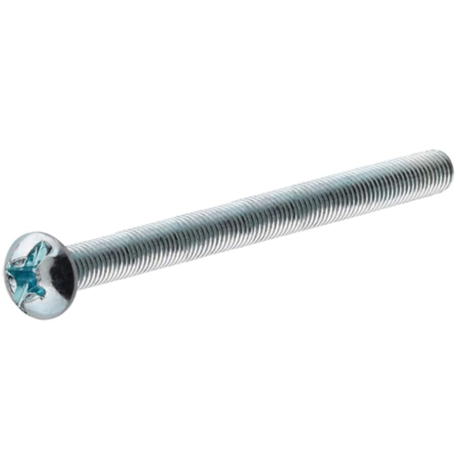 Hillman 25 Count #8 to 32 x 3-in Round-Head Zinc-Plated Phillips/Slotted Combination-Drive Standard (SAE) Machine Screw