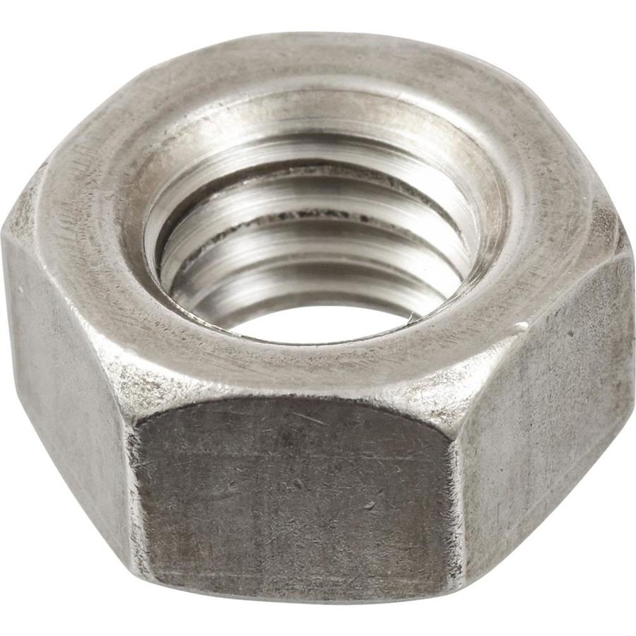 Hillman 4-Count 3/4-in Stainless Steel Standard (SAE) Hex Nuts
