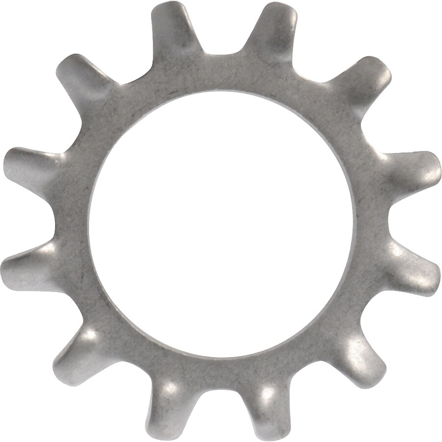 Hillman 60-Count #8 Standard (SAE) External Tooth Lock Washers