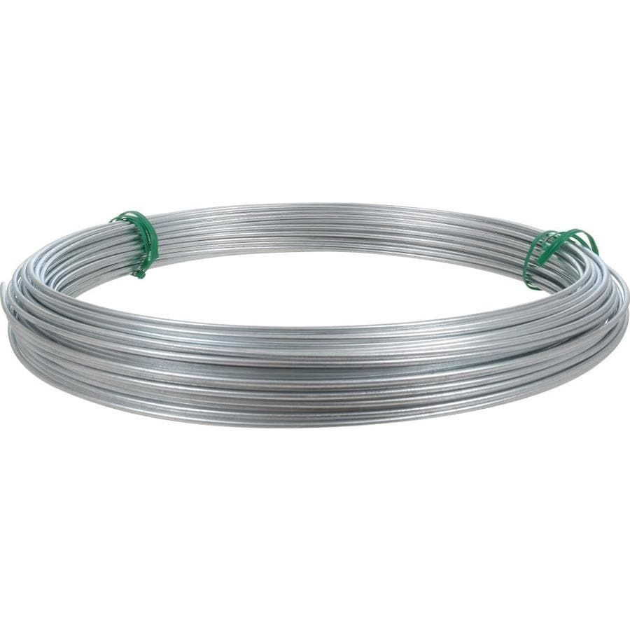 Shop hillman 14 gauge galvanized steel wire at lowes hillman 14 gauge galvanized steel wire keyboard keysfo Choice Image