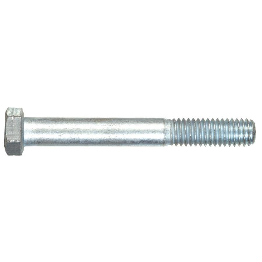 The Hillman Group Hex Cap Screws 7/16-14 x 4