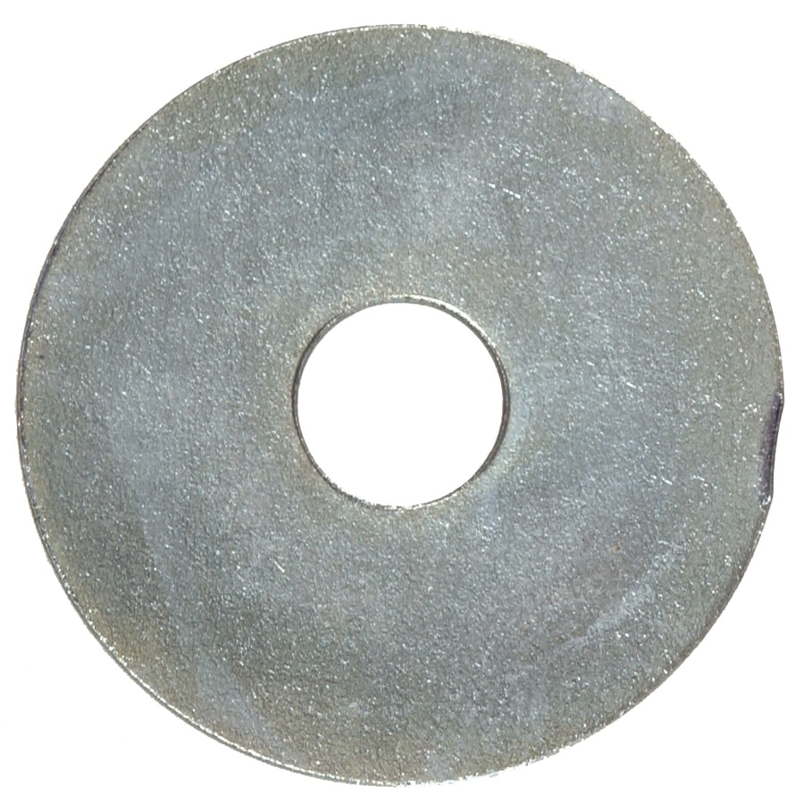 Hillman 4-Count 1/4-in x 1-1/2-in Zinc-Plated Standard (SAE) Fender Washers
