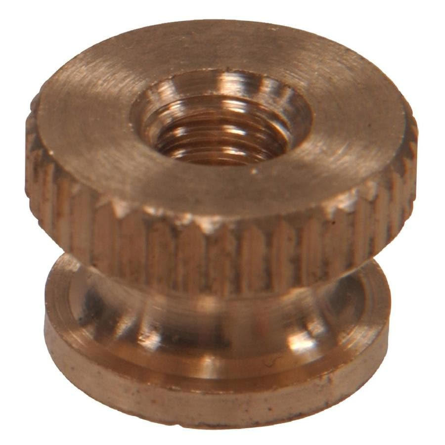 The Hillman Group 2-Count #6 Brass Standard (SAE) Cap Nuts