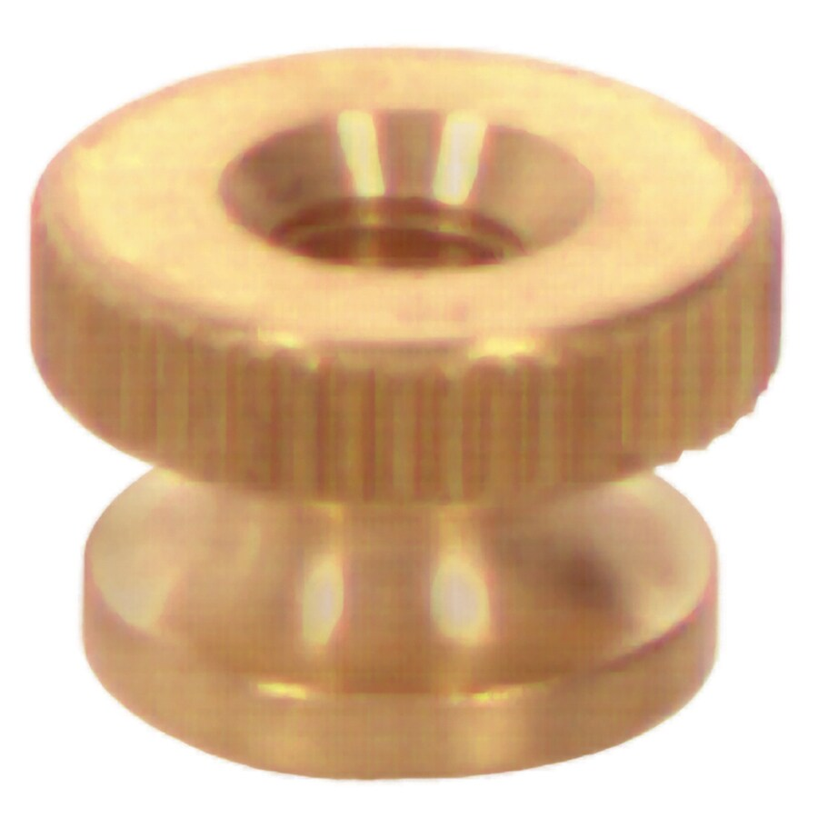 The Hillman Group 2-Count #10 Brass Standard (SAE) Cap Nuts