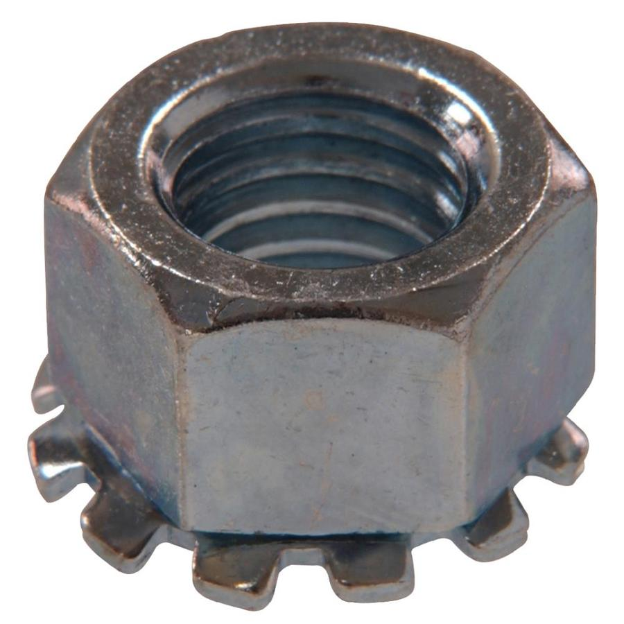 Hillman 2-Count 1/4-in Zinc-Plated Standard (SAE) Keps Lock Nuts