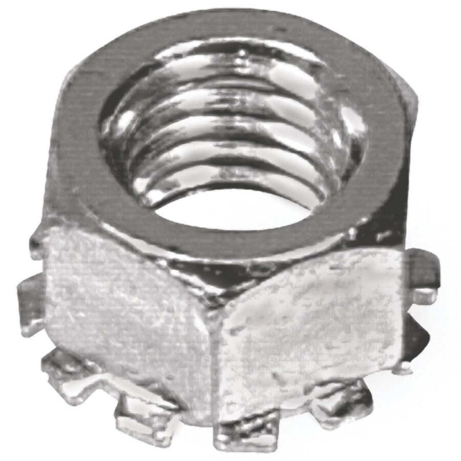 Hillman 2-Count 3/8-in Zinc-Plated Standard (SAE) Keps Lock Nuts