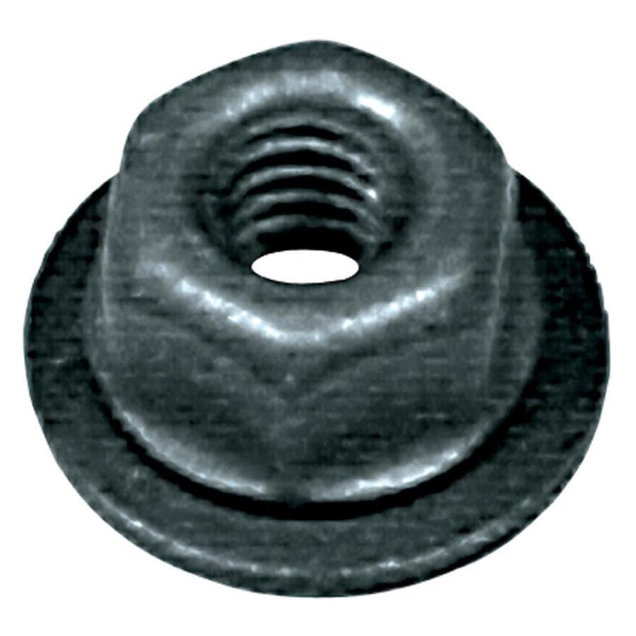 Hillman 2 Count 5/16-in Black Phosphate Standard (SAE) Hex Nut