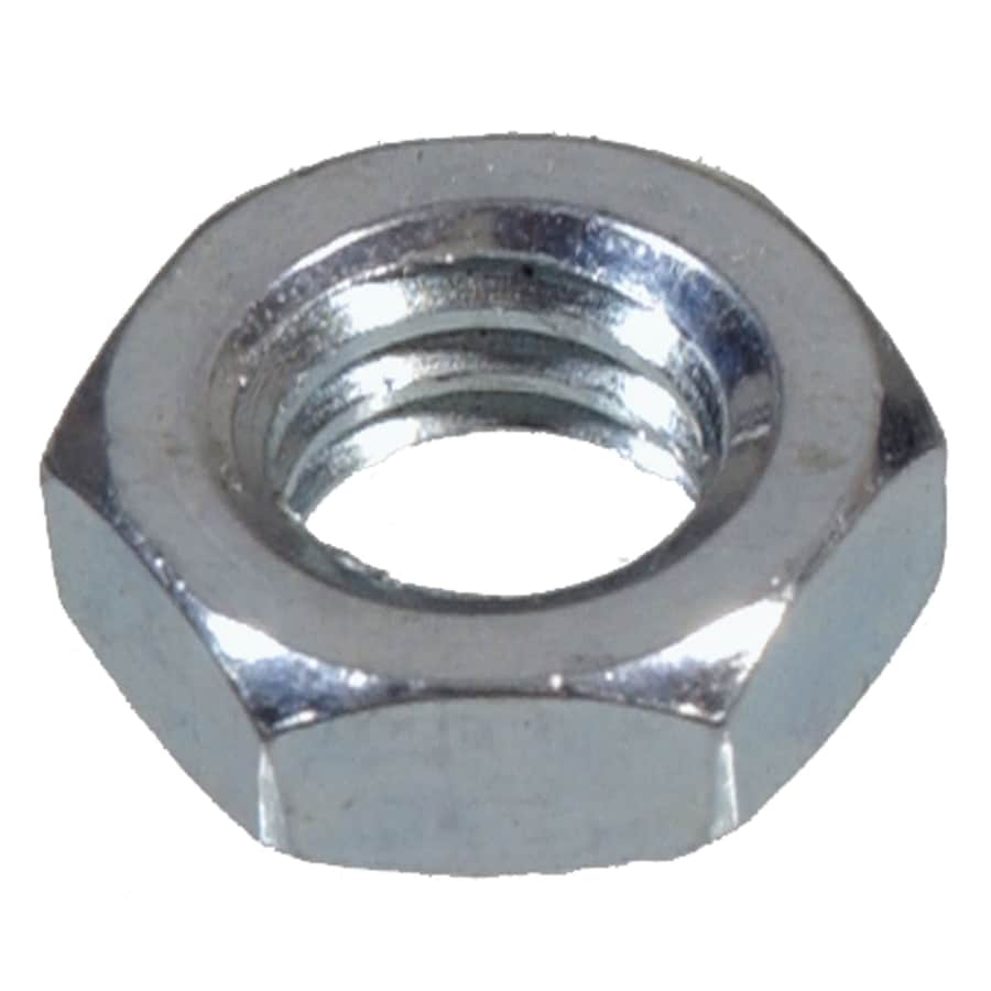 The Hillman Group 2-Count 3/8-in Zinc-Plated Standard (SAE) Jam Nuts