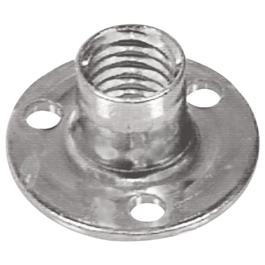 The Hillman Group 2-Count #6 Zinc-Plated Standard (SAE) Brad Hole Tee Nuts