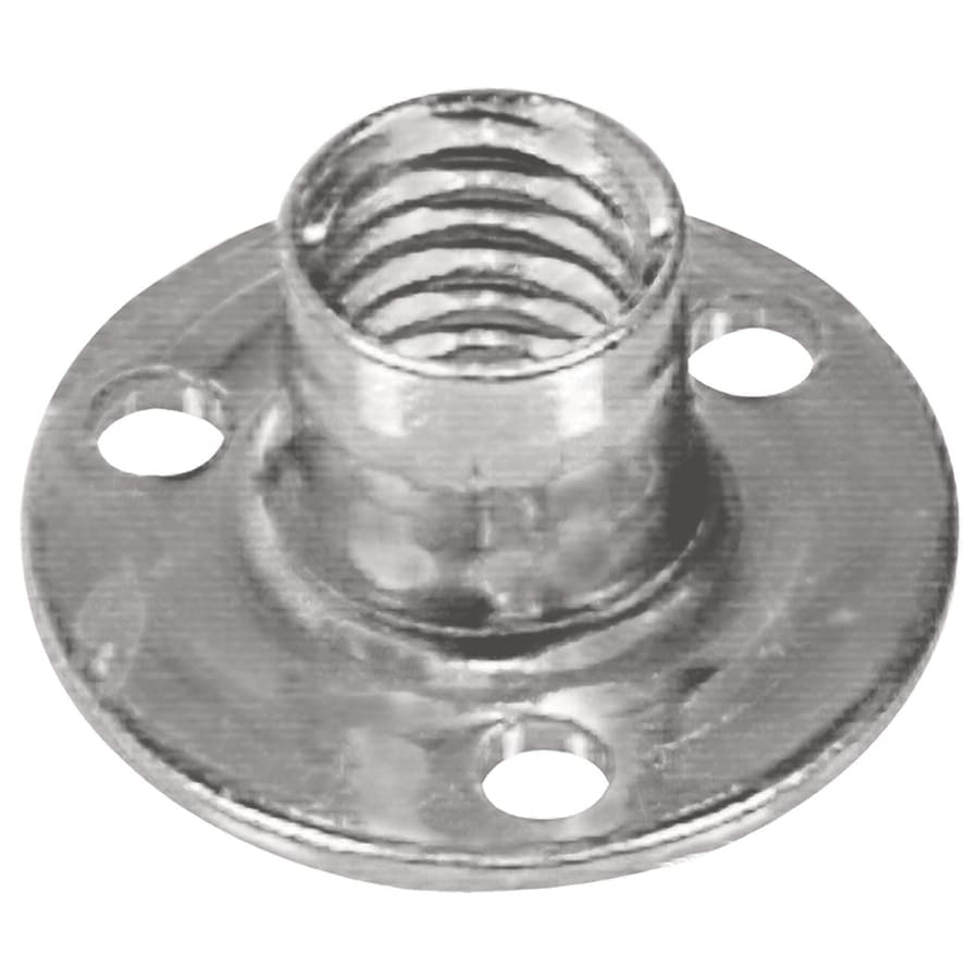 Hillman 2-Count #8 Zinc-Plated Standard (SAE) Brad Hole Tee Nuts