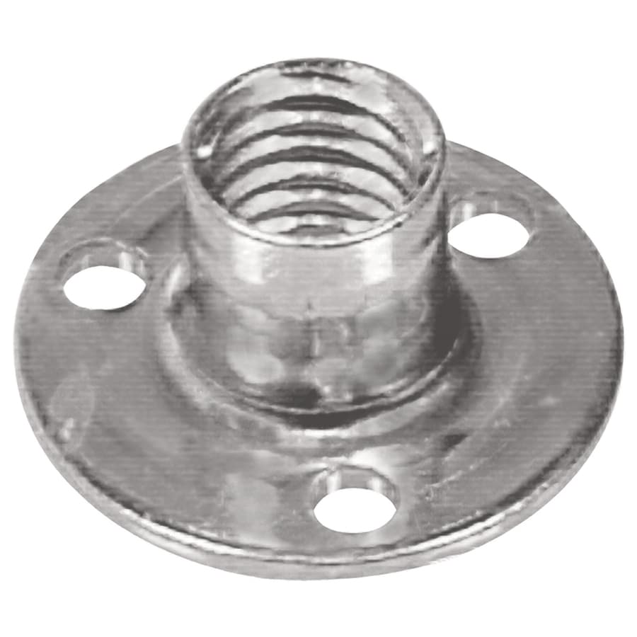 The Hillman Group 1/4-in Zinc-Plated Standard (SAE) Brad Hole Tee Nut