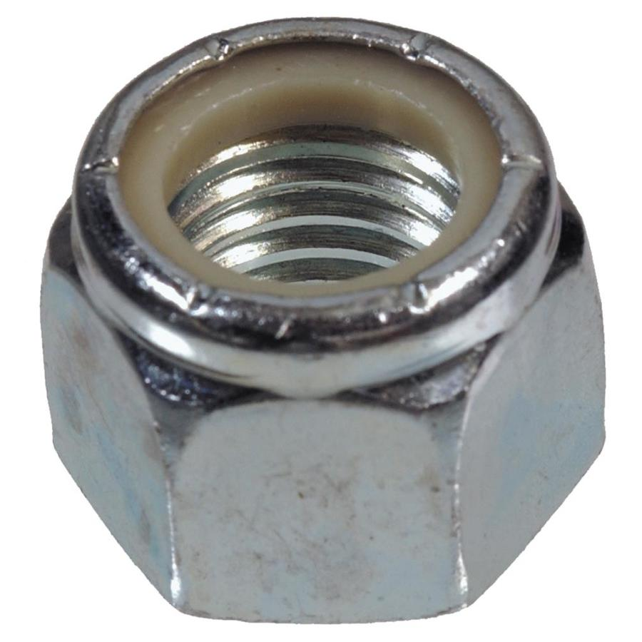 The Hillman Group 4-Count #10 Zinc-Plated Standard (SAE) Nylon Insert Lock Nuts